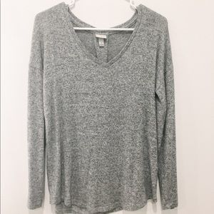 Speckled Gray Sweater